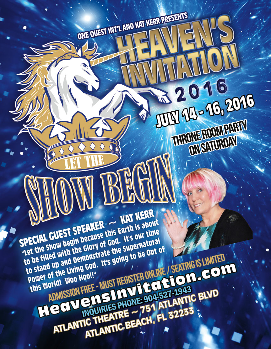 2016 Heavens Invitation