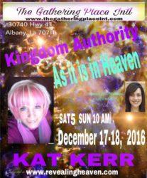 Albany Louisiana Kat Kerr December 2016