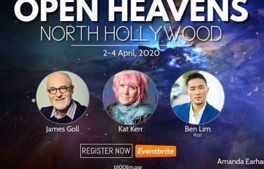 Kat Kerr Event April 2020 Itinerary