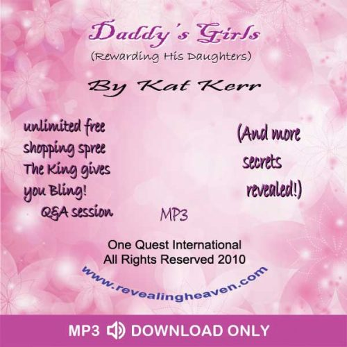 Daddy's Girls Part 1 and 2 Audio MP3 - DOWNLOAD ONLY