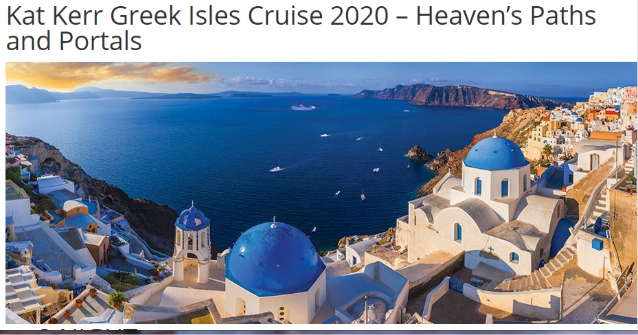 Kat Kerr Greek Isles Cruise 2020