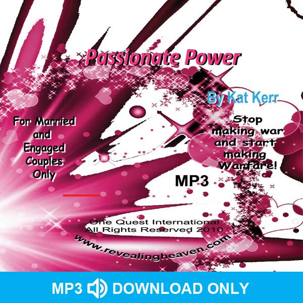 Passionate Power Audio MP3 - DOWNLOAD ONLY