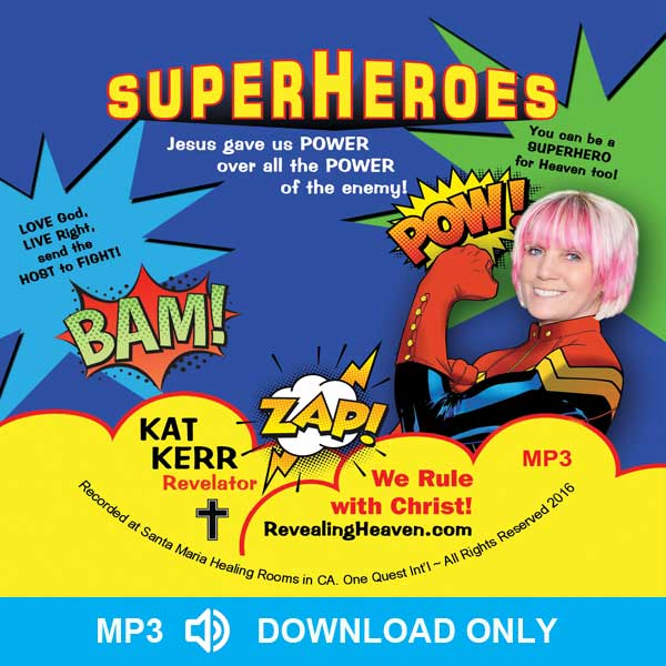 SuperHeroes Audio MP3 - DOWNLOAD ONLY