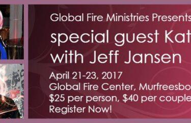 Kat Kerr April 21-23 2017 TN USA