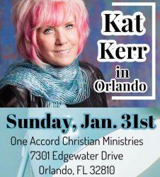 Kat Kerr January 2021 Orlando Florida