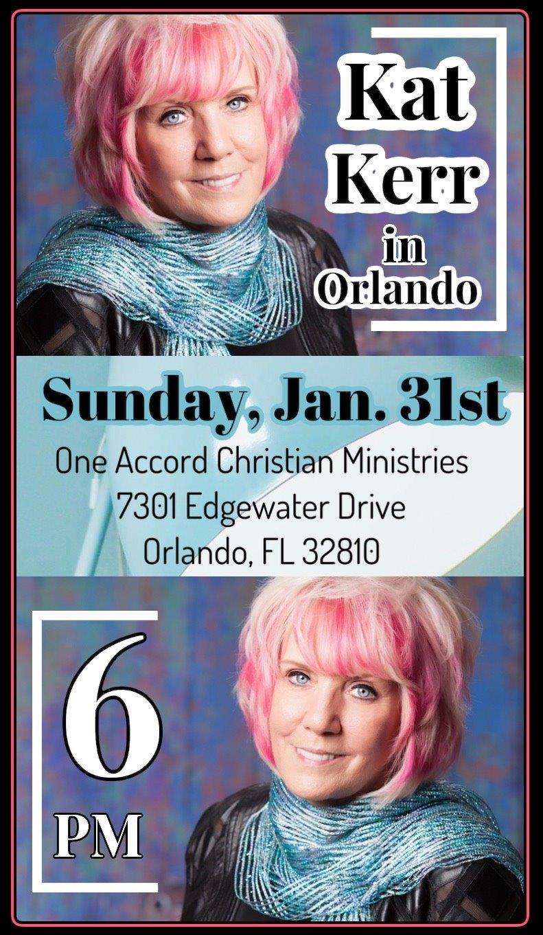 kat kerr 2021.01.31 Jan 31 2020 Orlando Florida