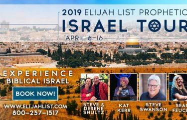 Kat Kerr Elijah List Israel Tour